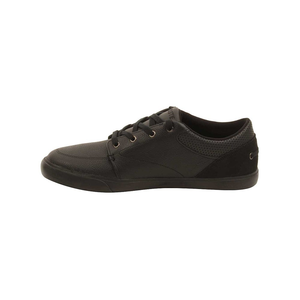 a1f9bdc342eb09 Shop Lacoste Mens Bayliss 316 Sneakers in Black - Free Shipping Today -  Overstock.com - 16074089