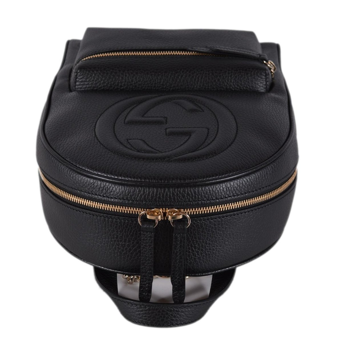 0311bf17e Black Gucci Backpack With Chain Straps| Perú Gustoso
