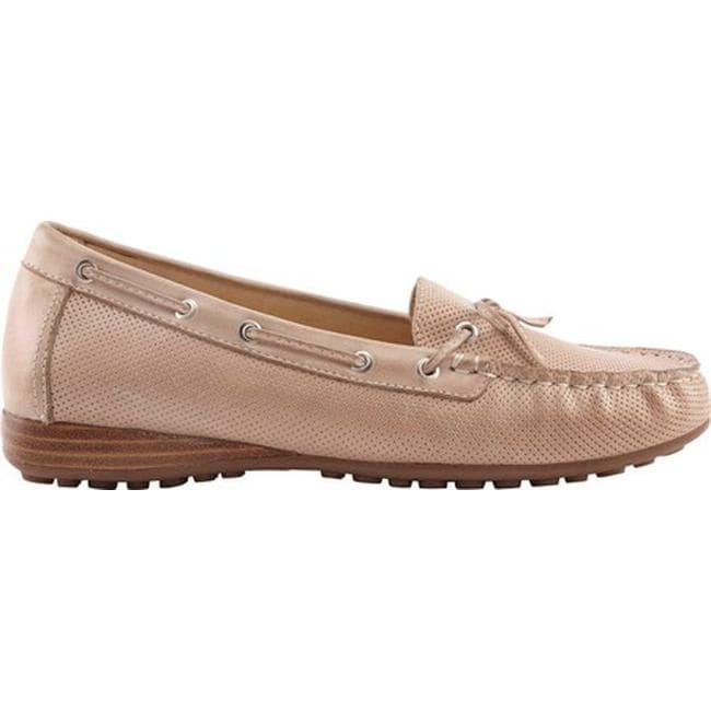 4b702336fb5 Shop David Tate Women s Splendid Loafer Taupe Naked Calfskin - On Sale -  Free Shipping Today - Overstock - 25970199