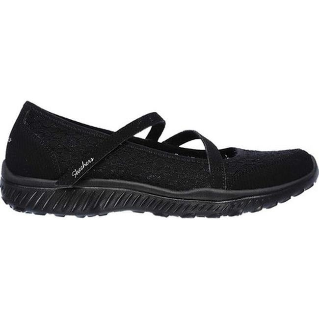 f3049761bcfb Shop Skechers Women s Be-Light Florescent Mary Jane Black - Free Shipping  Today - Overstock - 19426990