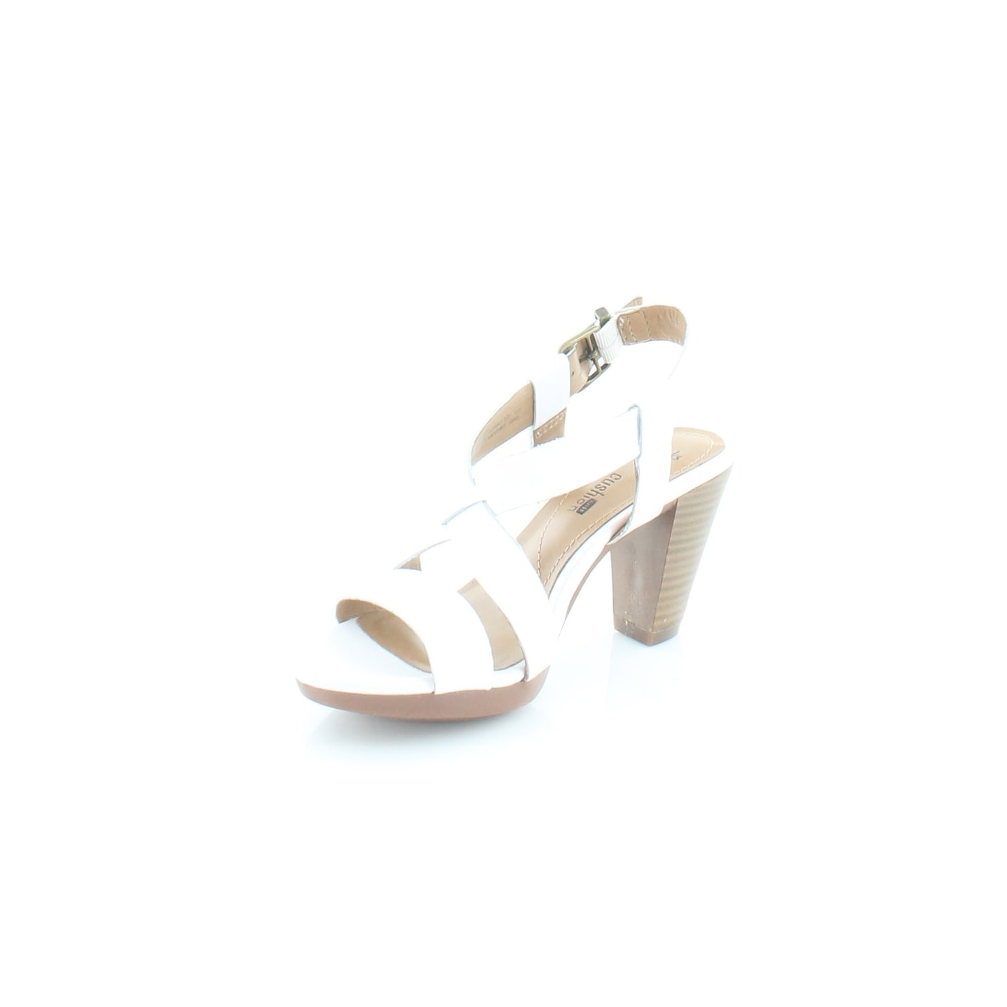 9c5f222c568 Shop Clarks Jaelyn Fog Women s Sandals White - 5 - Ships To Canada -  Overstock - 23550563