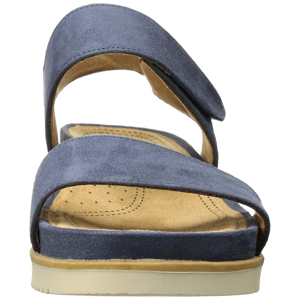 567aa2a31f23 Shop Natural Soul Women s Kaila Flat Sandal - Free Shipping On Orders Over   45 - Overstock - 25725043