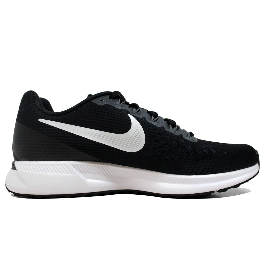 ad19fc4f5ad6b Shop Nike Women s Air Zoom Pegasus 34 Black White-Dark Grey 880560-001 -  Free Shipping Today - Overstock - 20131460