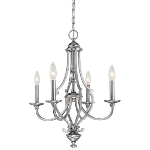 Minka Lavery 3334-84 4 Light One Tier Mini Chandelier from the Savannah Row Collection