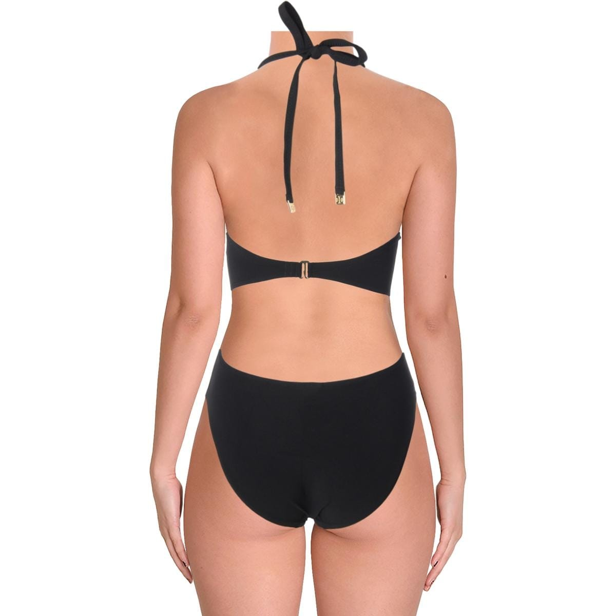 16fd7f47be95dc Shop Tory Burch Womens Halter Bandeau One-Piece Swimsuit - Free Shipping  Today - Overstock - 25624347
