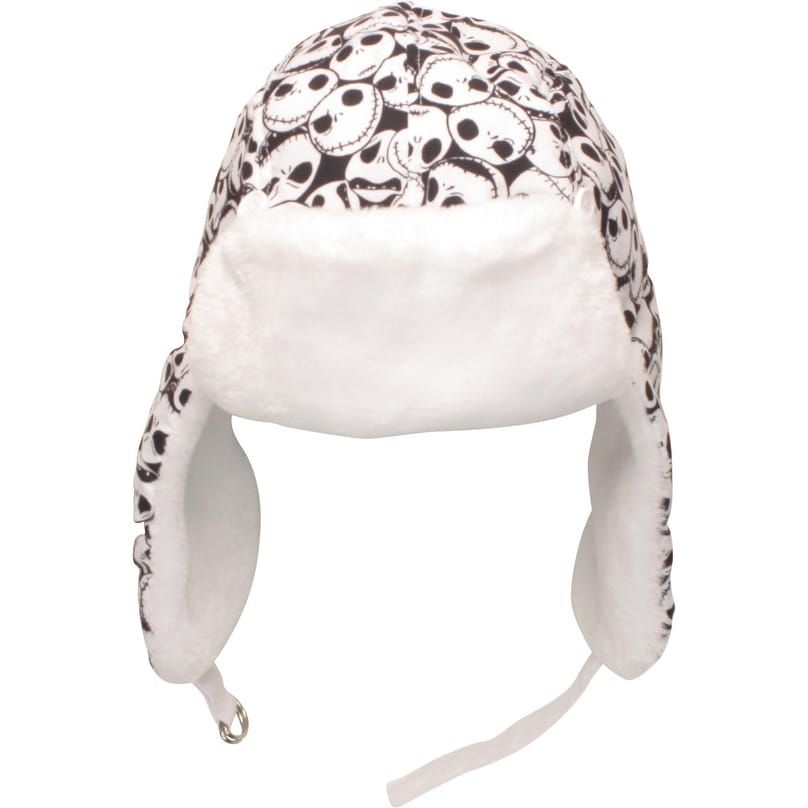 a508bca403b Shop Disney s Nightmare Before Christmas Jack Skellington Reversible Flip  Trapper Aviator Hat Beanie - Free Shipping On Orders Over  45 - Overstock -  ...