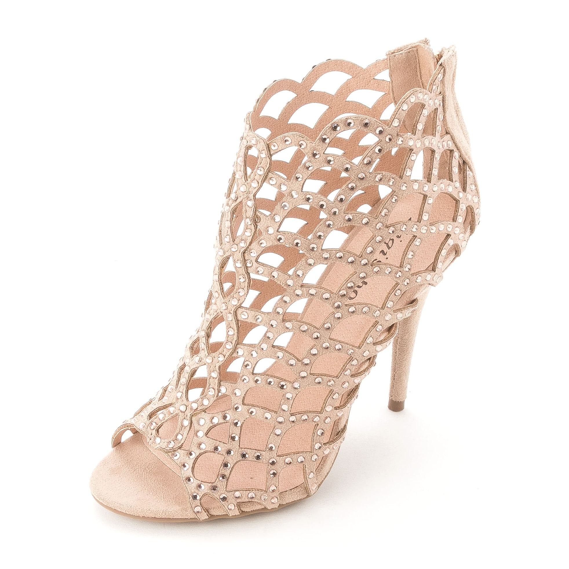 1c4c5d9123b17b Shop Zigi Soho Womens Duran Fabric Open Toe Special Occasion Strappy Sandals  - Free Shipping On Orders Over  45 - Overstock - 14526525