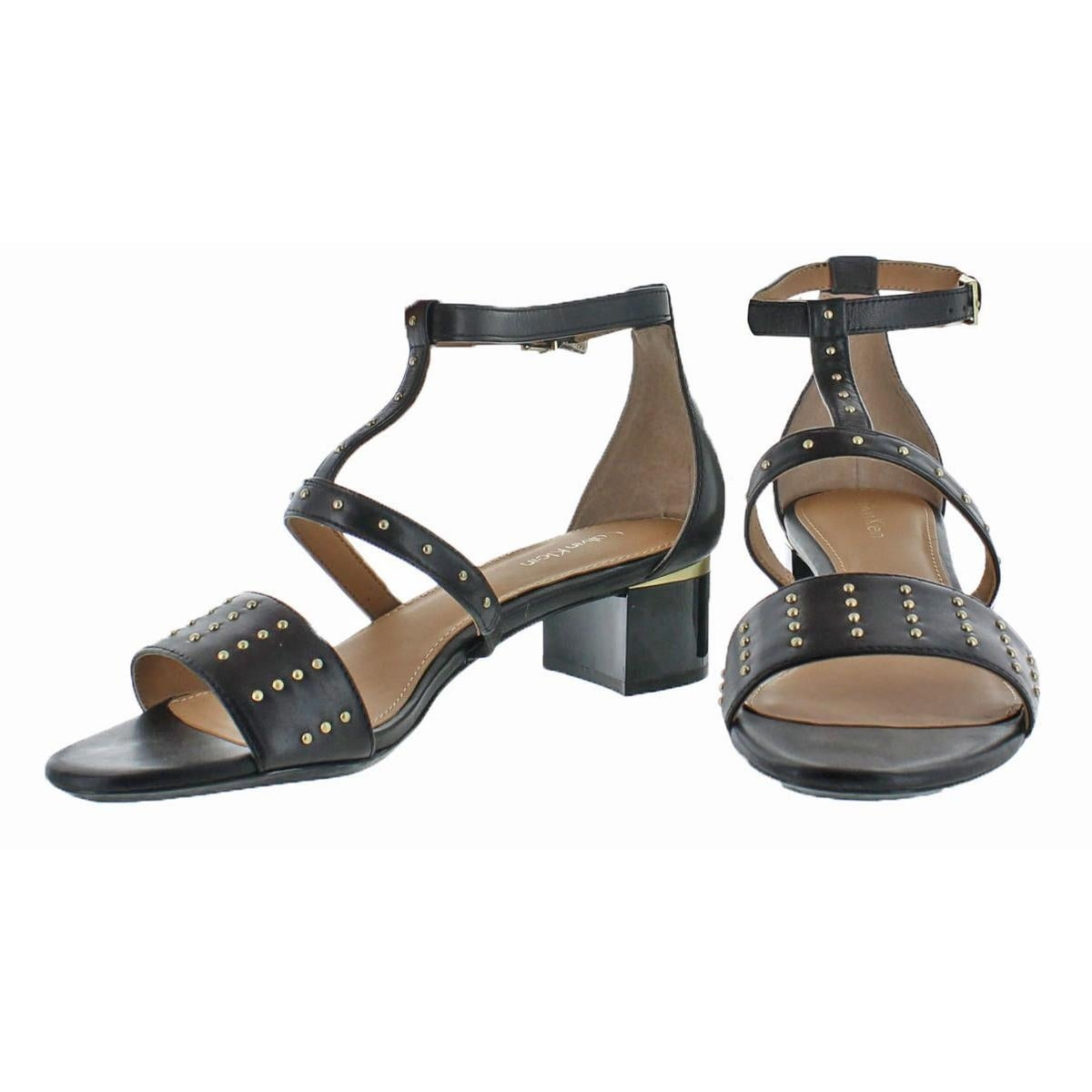 637f9691cb1 Shop Calvin Klein Womens Divina Dress Sandals Open Toe Block Heel - Free  Shipping On Orders Over  45 - Overstock - 21185526
