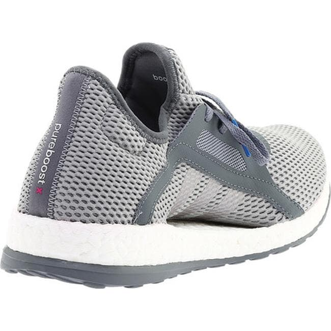 53095a2f3 Shop adidas Women s Pureboost X Trainer Vista Grey Silver Metallic Mid Grey  - Free Shipping Today - Overstock - 15378379