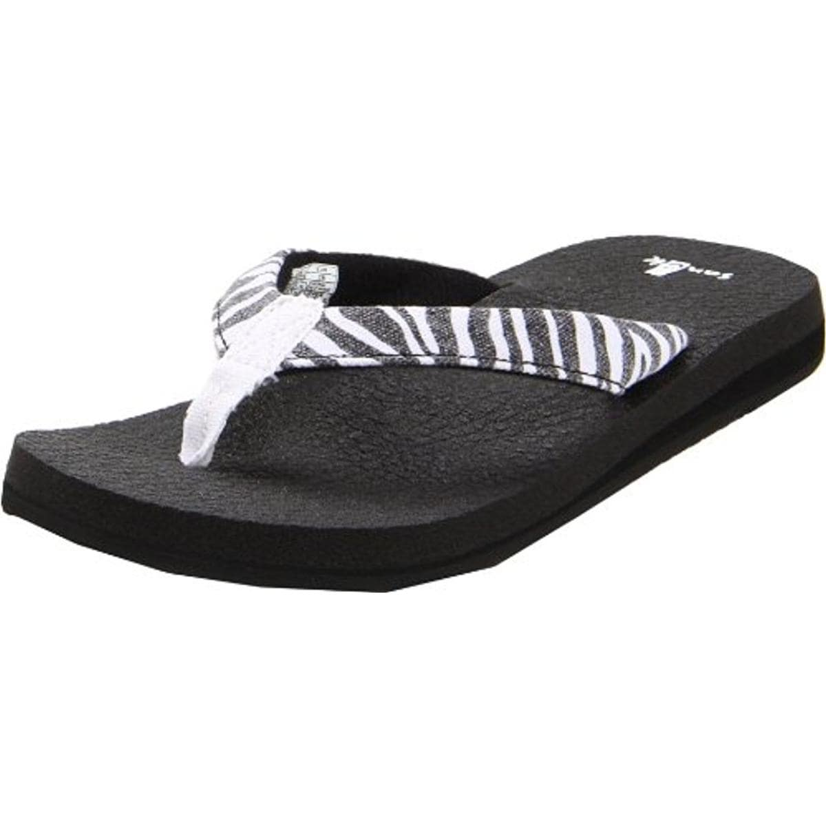 4bc12fd96e3c Shop Sanuk Womens Yoga Wildlife Flip-Flops Canvas - Free Shipping On Orders  Over  45 - Overstock - 13212493