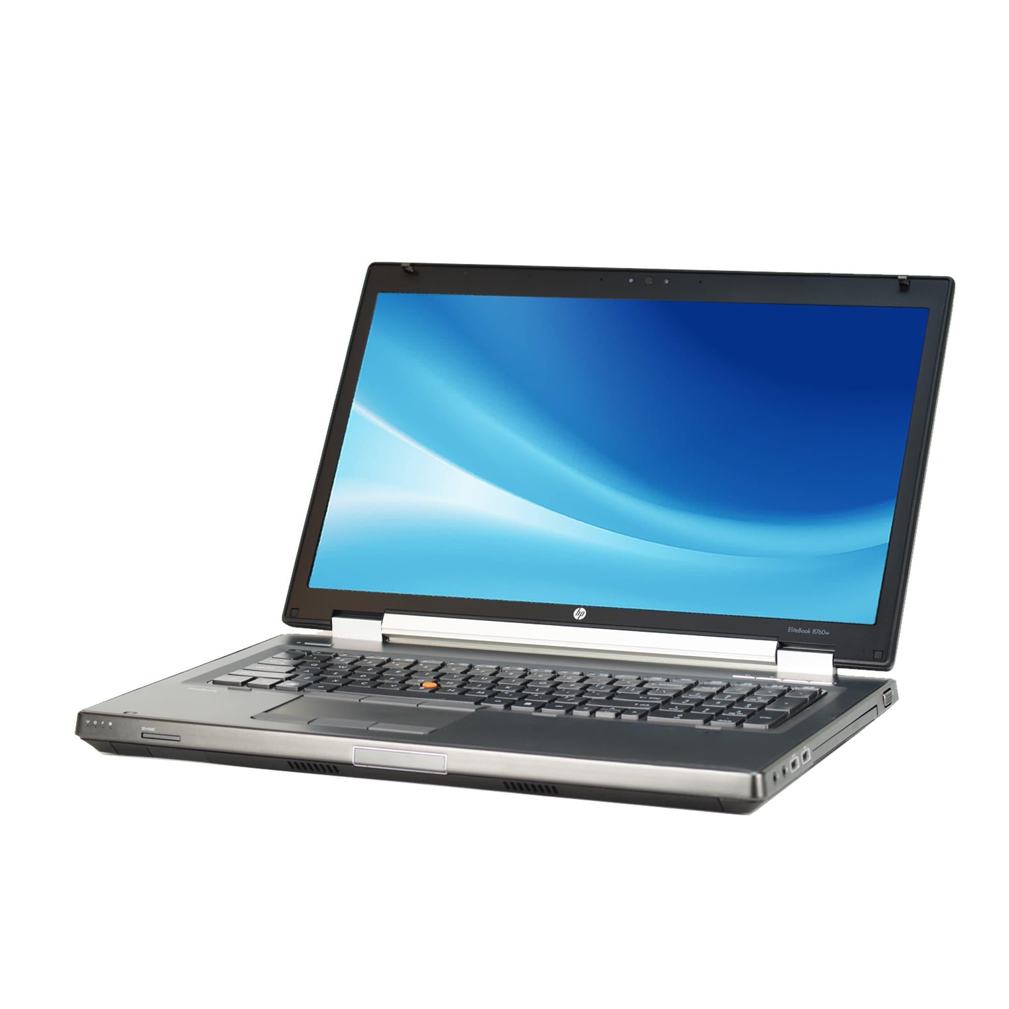 Shop HP Elitebook 8760W Intel Core i7-2720QM 2.2GHz 2nd Gen CPU 8GB RAM  500GB HDD Windows 10 Pro 17.3-inch Laptop (Refurbished) - Free Shipping  Today ...
