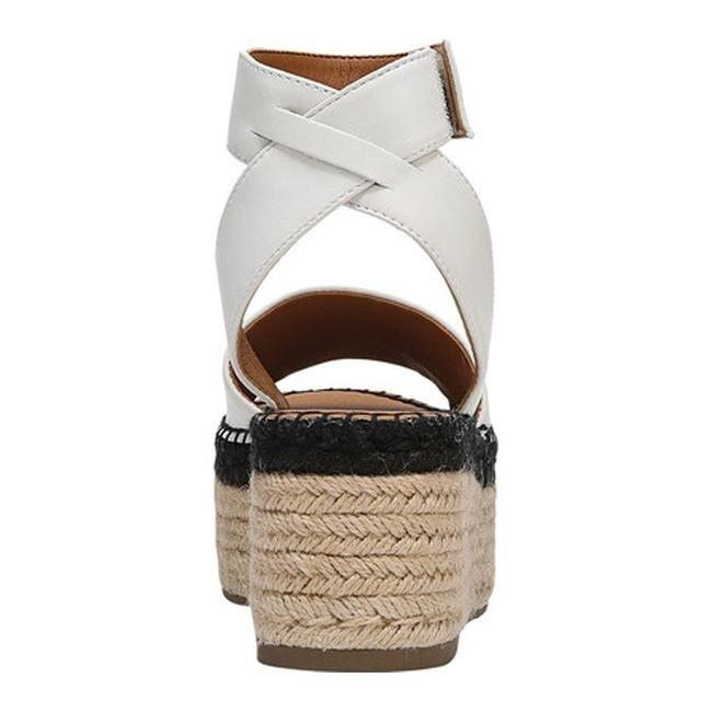ee43e5076b02 Shop Sarto by Franco Sarto Women s Maisi Platform Sandal Blanca Leather - Free  Shipping Today - Overstock - 22863519
