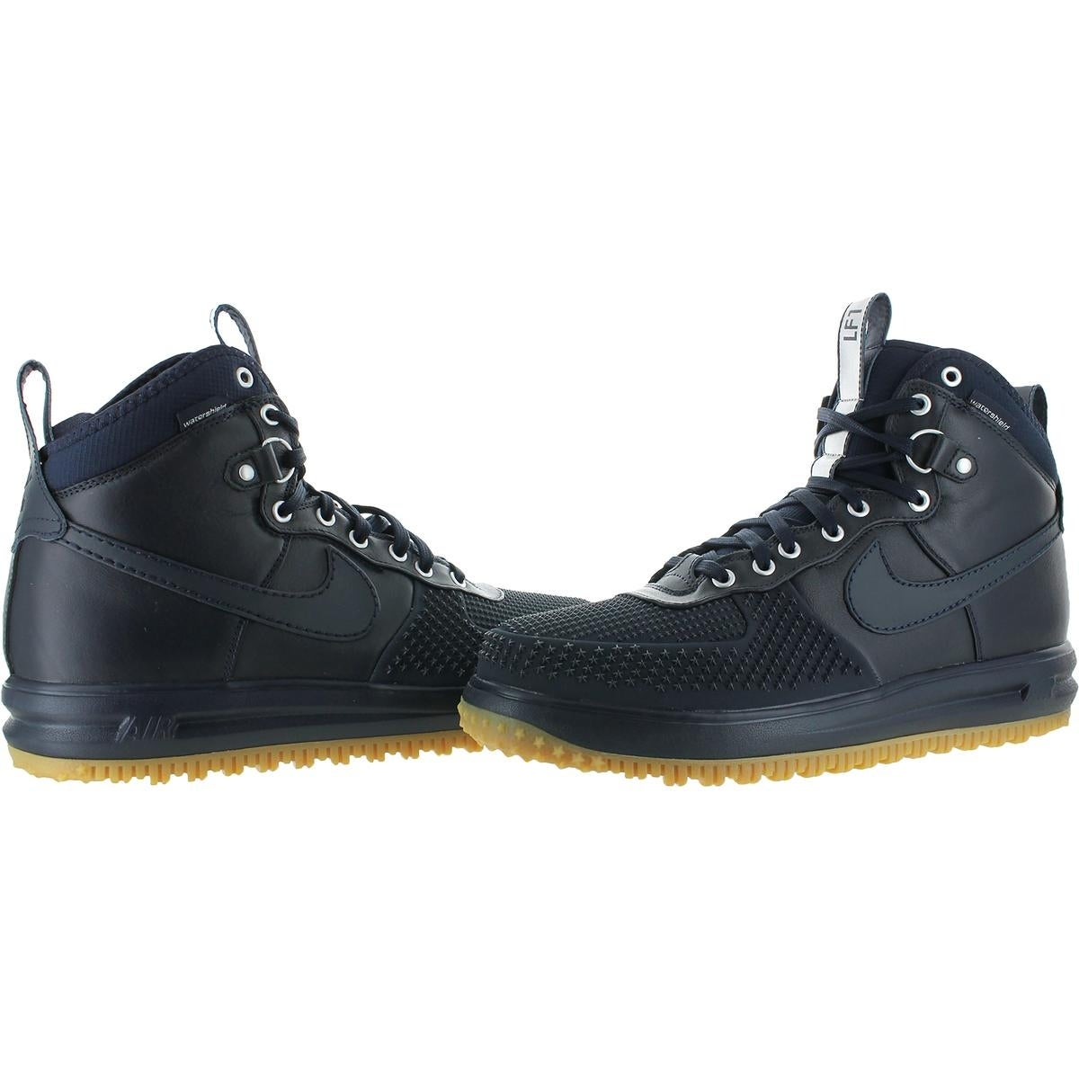 new product 8a288 26e15 Shop Nike Mens Lunar Force 1 Duckboot Fashion Sneakers Watershield High-Top  - Free Shipping Today - Overstock - 21846705