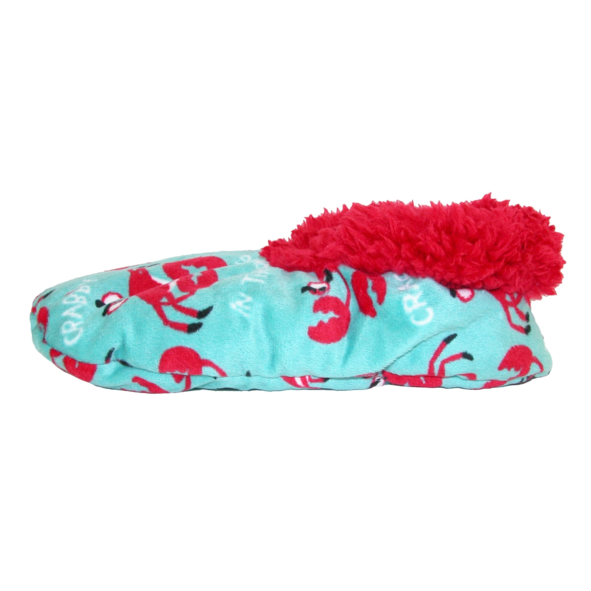 4cafb8f55af6 Shop Lazy One Women s Crabby In The Morning Print Fuzzy Feet Slippers -  Free Shipping On Orders Over  45 - Overstock - 14281591