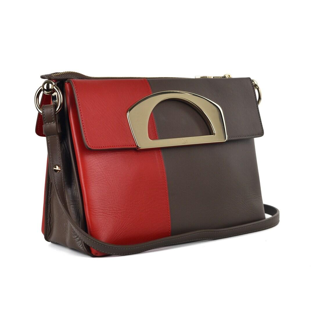 Shop Christian Louboutin Womens Passage Ombre Multicolred Messenger ... 5e7ab943999dd