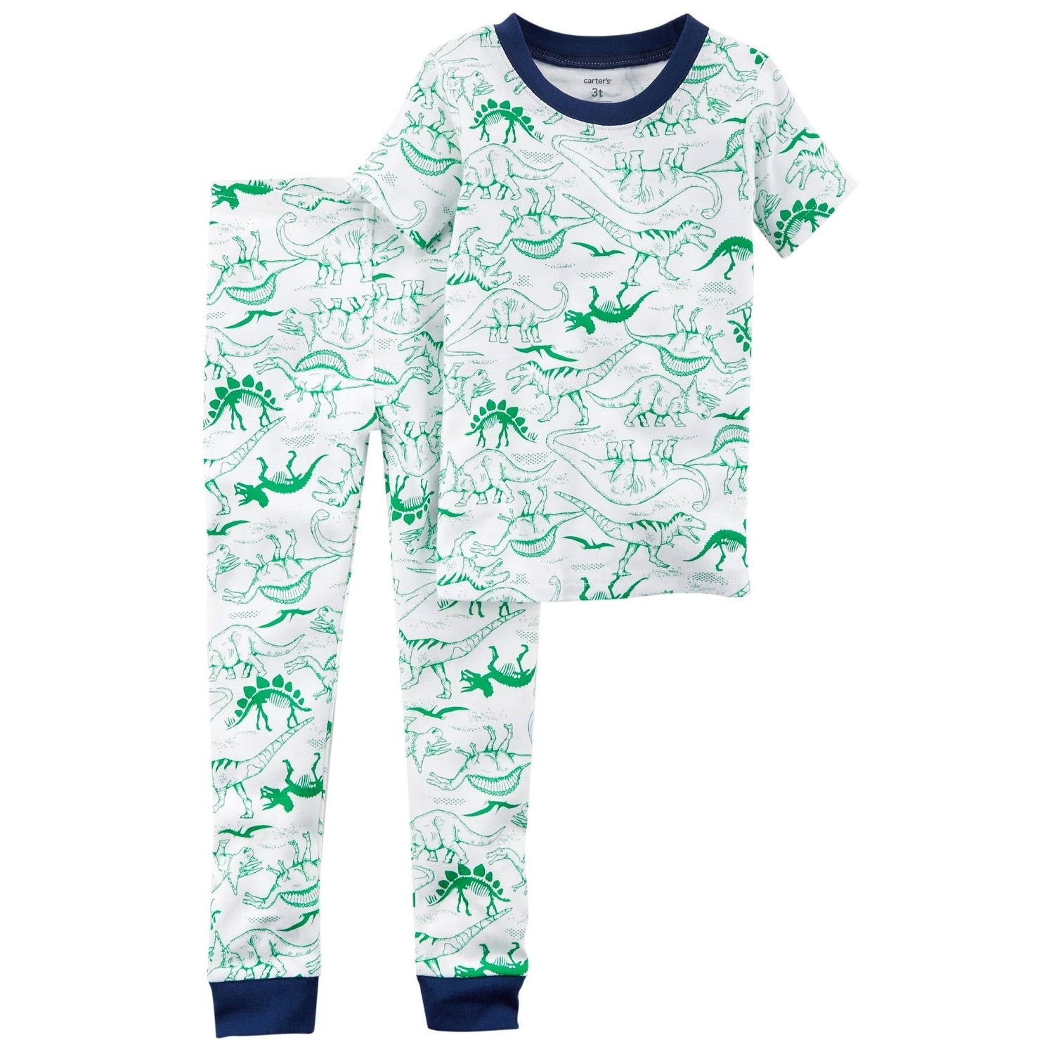 Shop Carters Baby Boys 2 Piece Dinosaur Snug Fit Cotton Pjs Free 3 Pieces Orange Mickey Mouse Shipping On Orders Over 45 21178418