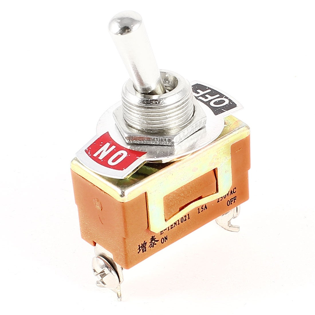 Of Momentary Switches Spst Should Only Require Two Terminals Shop E Ten1021 2 Position On Off Toggle Switch Ac 250v 15a Free Shipping Orders Over 45 18256028