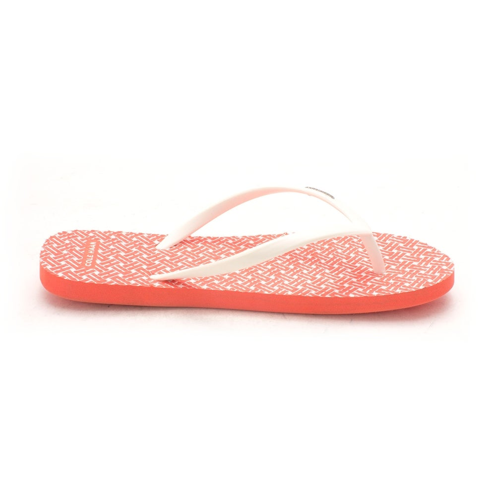 466b62530cce Shop Cole Haan Womens Eva Flip Flop Open Toe Casual - 6 - Free Shipping On  Orders Over  45 - Overstock - 20199682