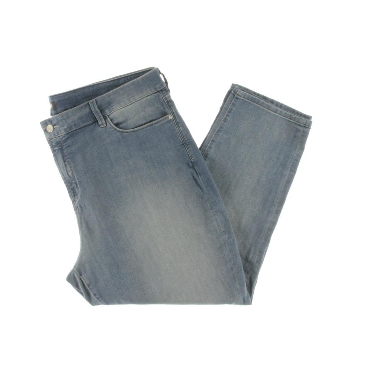 608bb6984134 Shop NYDJ Womens Plus Alina Jeans Light Wash High Rise - Free ...