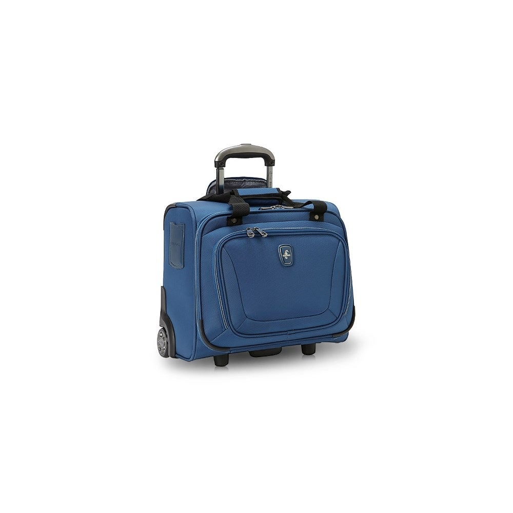 Travelpro Atlantic Unite 2 Blue Wheeled Tote W Aircraft Grade Aluminum Handle System Free Shipping Today 15128320