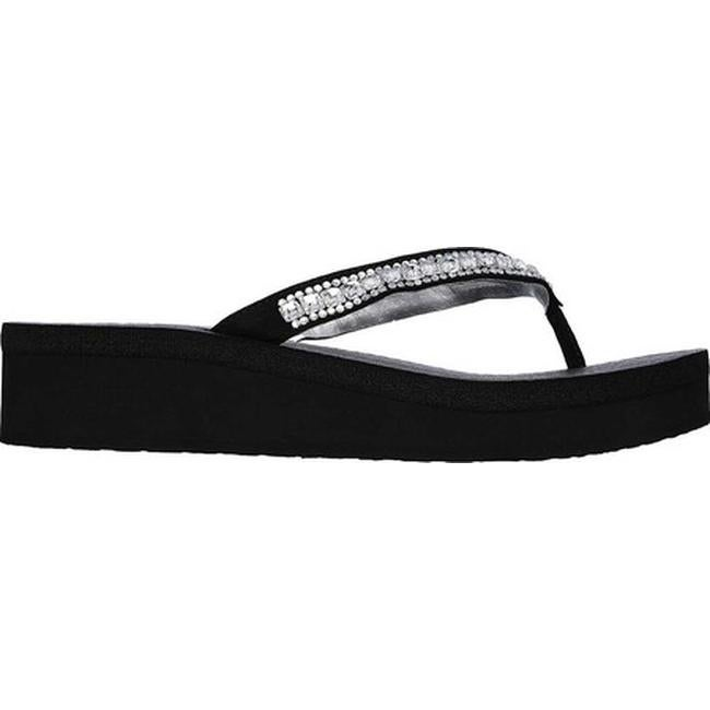 29f452062b17 Shop Skechers Women s Vinyasa Treasure Trove Sandal Black - Free Shipping On  Orders Over  45 - Overstock - 10334039