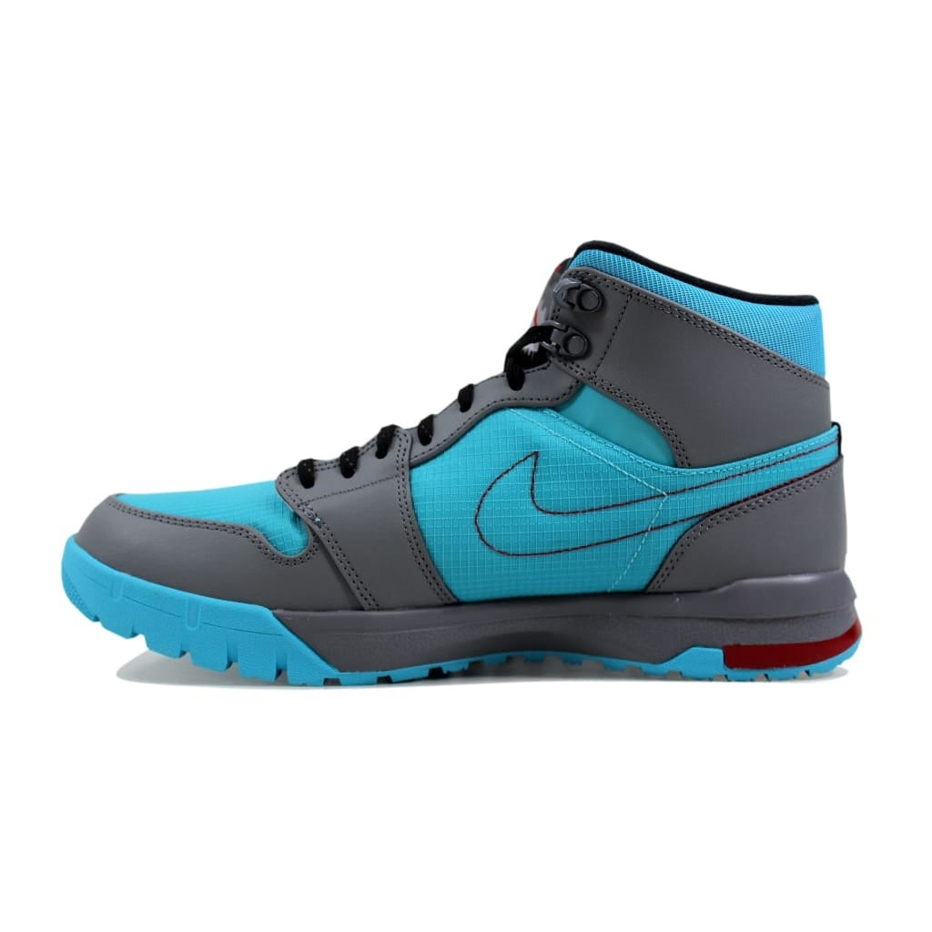 cbacd5f1d06a Shop Nike Men s Air Jordan 1 Trek Cool Grey Black-Gamma Blue-Gym  Red616344-016 - Free Shipping Today - Overstock - 24016507