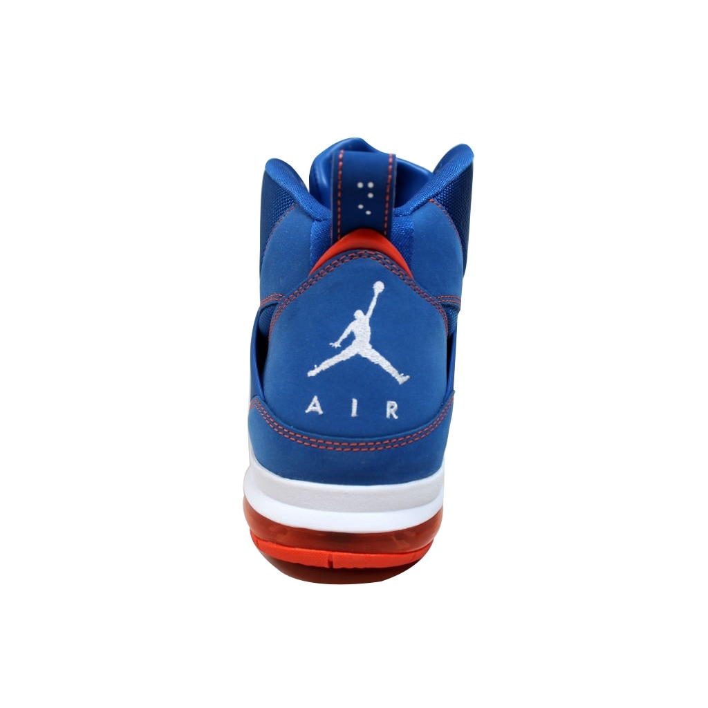 f8d86d13b721 Shop Nike Men s Air Jordan Flight 45 High Max Game Royal White-Team Orange  Carmelo Anthony Knicks 524866-401 - Free Shipping Today - Overstock -  19538713