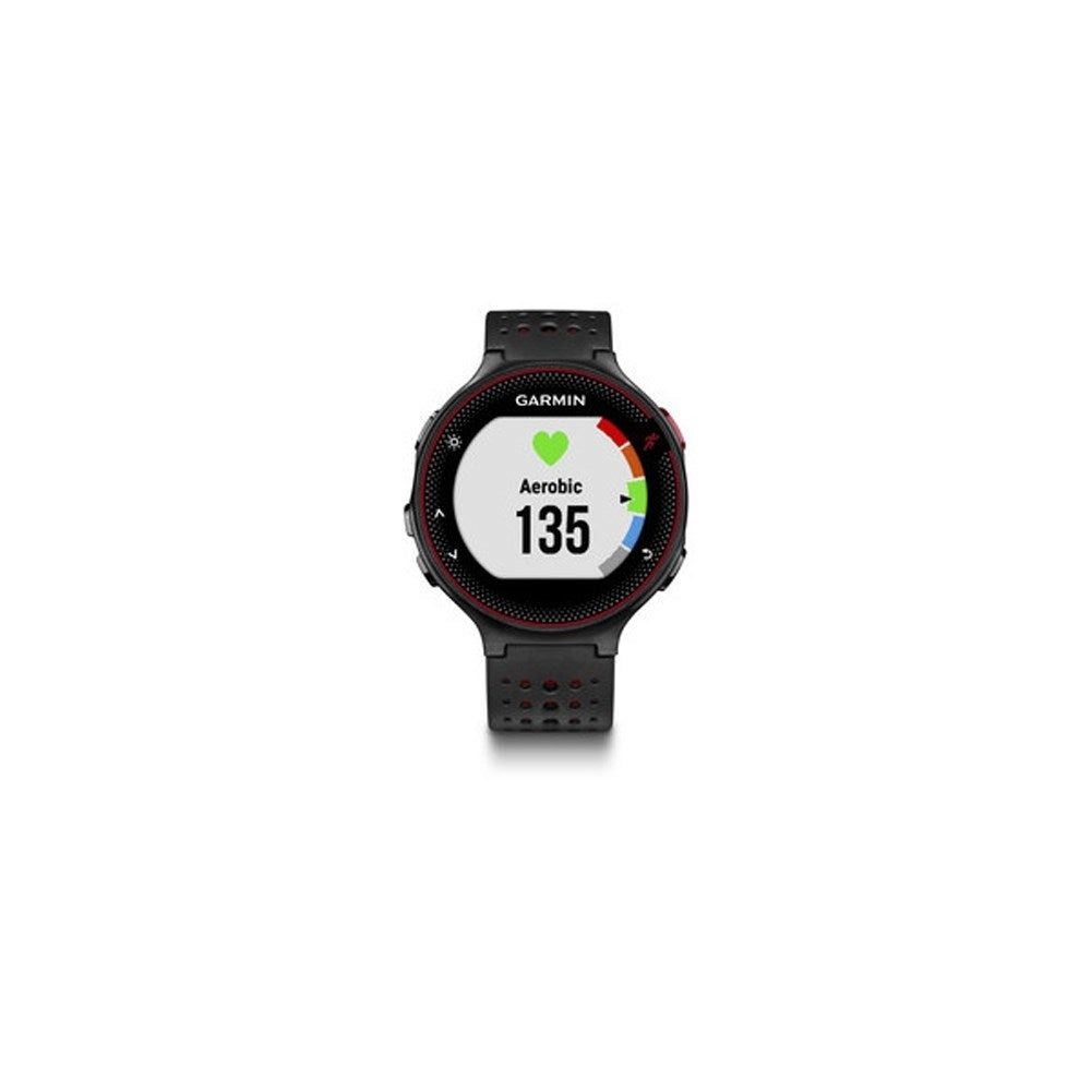 Shop Refurbished Garmin Forerunner 235 Marsala Gps Watch W Tracks Frost Blue Distance Pace Time Heart Rate Free Shipping Today 15650219