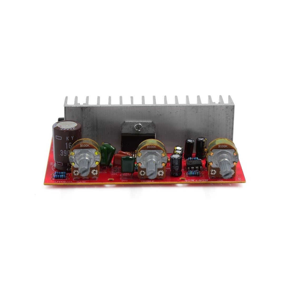 Shop Unique Bargains 40w Lfe Subwoofer Audio Hi Fi 2 Channel Car Circuit Amplifier Stereo 2channel Board Power Free Shipping On Orders Over 45