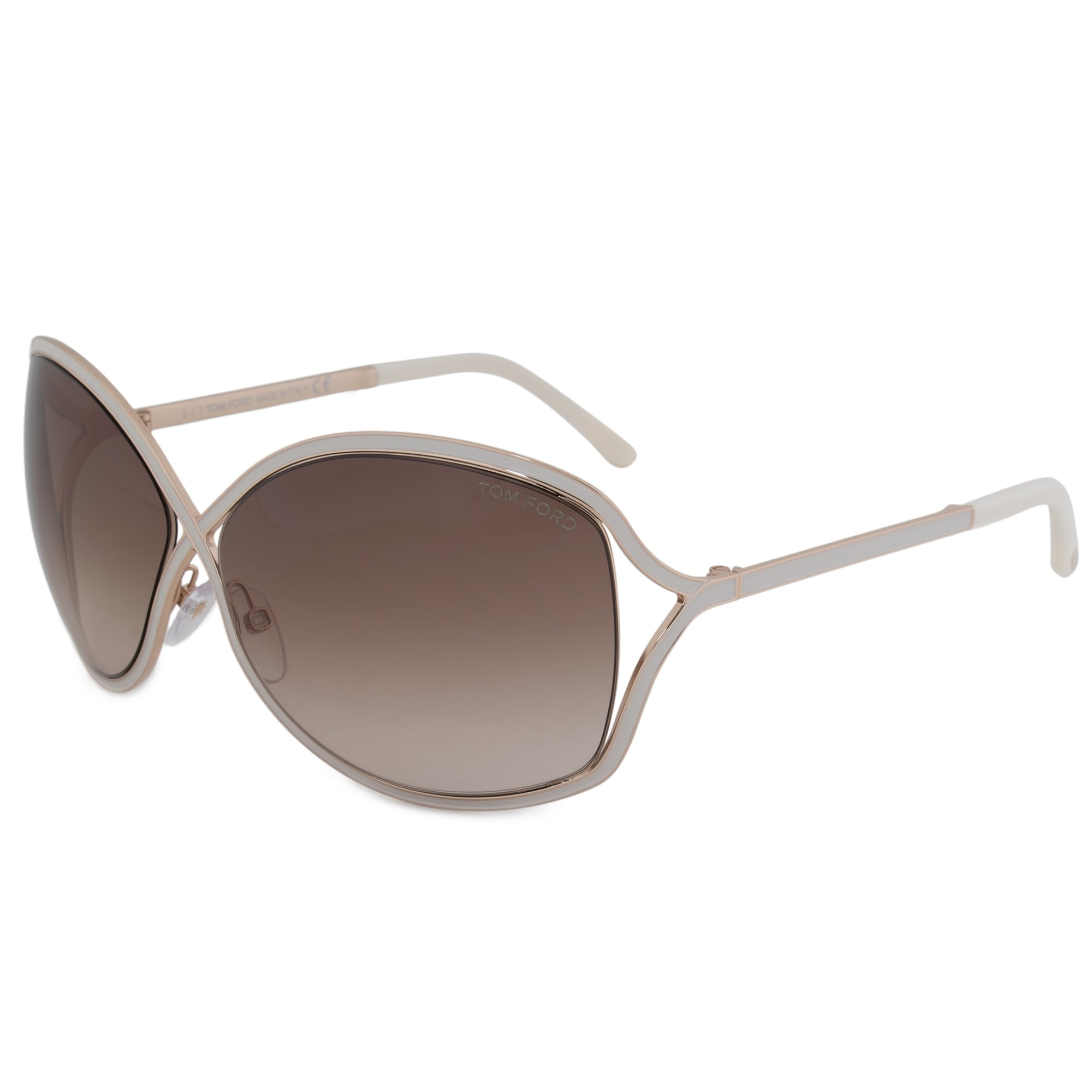00e807230ad06 Shop Tom Ford Rickie Oval Sunglasses FT0179 28G 64 - Free Shipping Today -  Overstock - 19622673