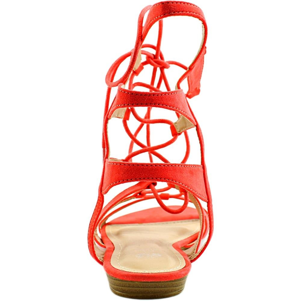 8fd20e8cd6a Shop G.C. Shoes Amazon Women Open Toe Synthetic Orange Gladiator Sandal -  Free Shipping On Orders Over  45 - Overstock - 15630369