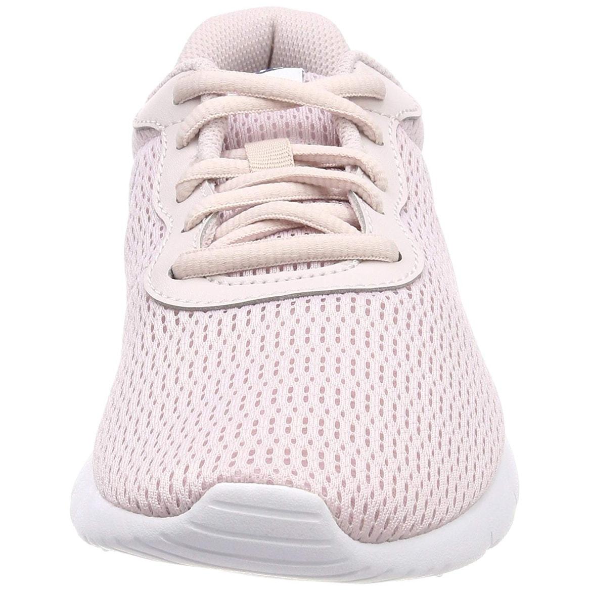 8c4bd7272492 Shop Nike 818384-600  Girl s Tanjun Barely Rose Navy White Sneaker (6 M Us  Big Kid) - Free Shipping Today - Overstock - 25593314