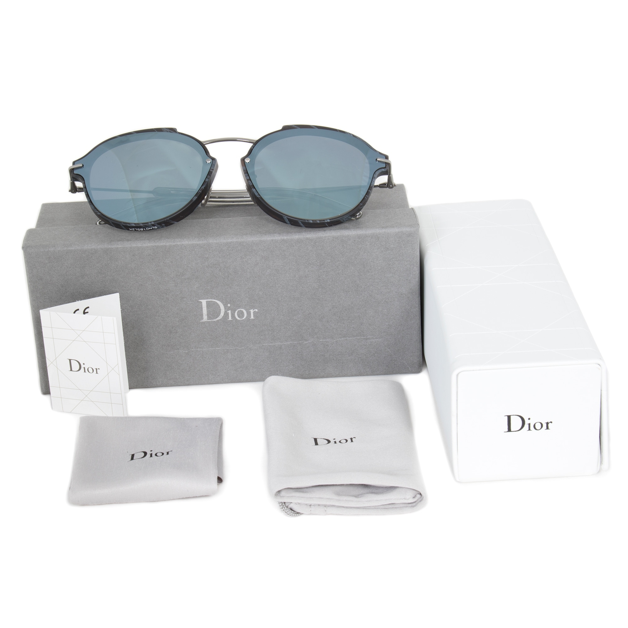 c6fca367fa Shop Christian Dior Eclat GN0T7 Sunglasses