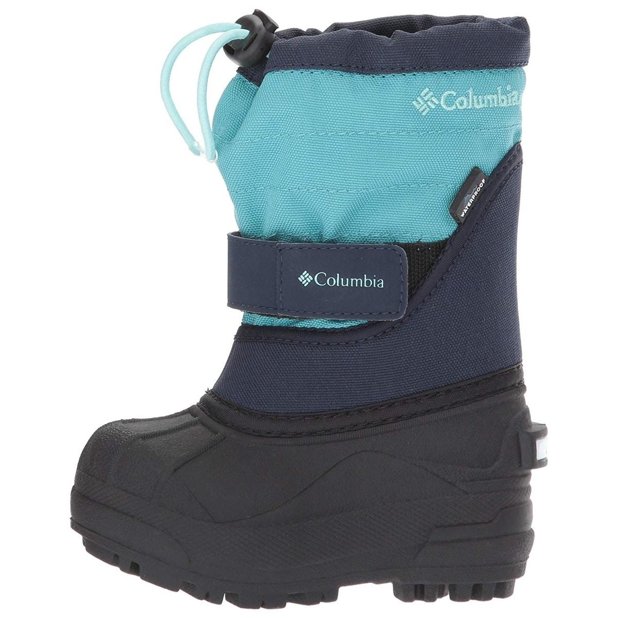 10e71dcddac7 Shop Kids Columbia Boys Powderbug Plus 2 Mid-Calf Snow Boots - Free ...