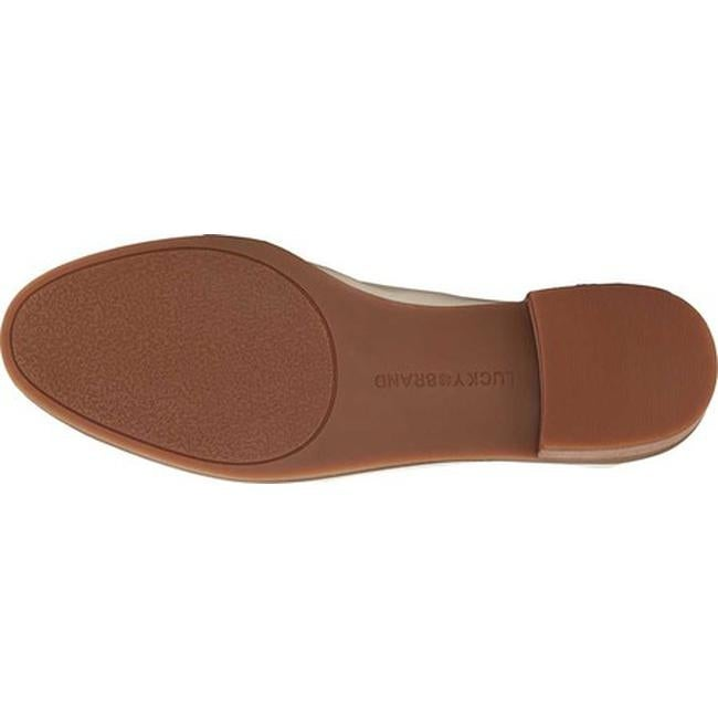 e2ec524afae Shop Lucky Brand Women s Chantara Loafer Sandshell Synthetic Patent - Free  Shipping Today - Overstock - 22864070