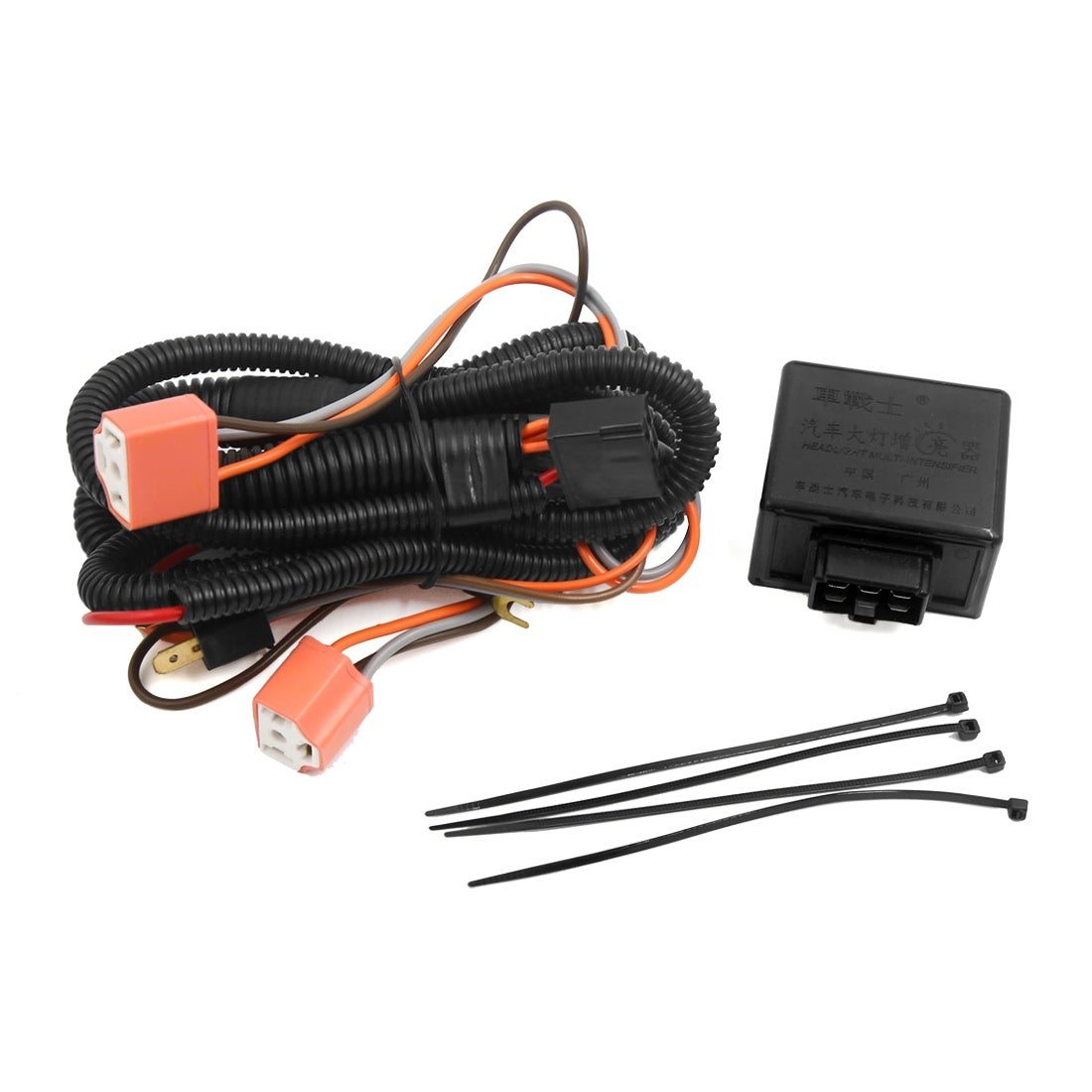 Shop H4 Hid Headlight Fog Bulb Female Plug Relay Harness Wire Controller Wiring Kit For Car On Sale Free Shipping Orders Over 45 17609484