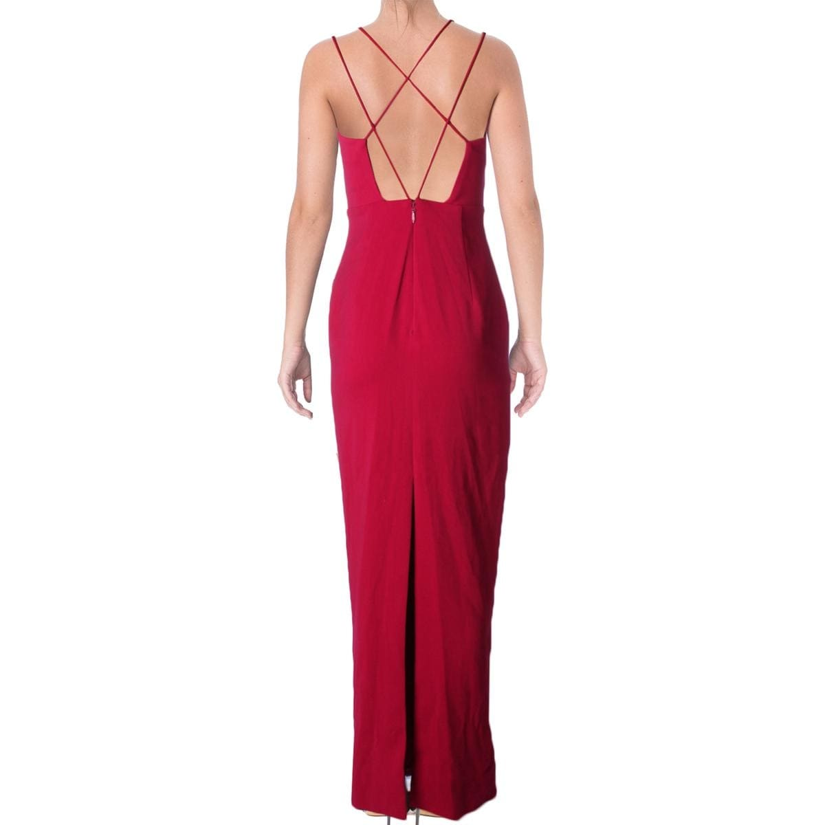 f52d55deb Shop Bariano Womens Evening Dress Criss-Cross Back Sheath - Free Shipping  On Orders Over  45 - Overstock - 17364939