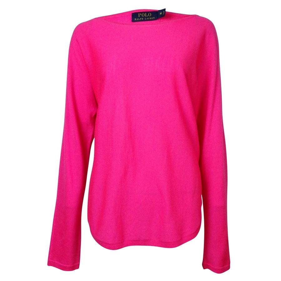 Shop Polo Ralph Lauren Women\u0027s Dolman Merino Wool Sweater - Free Shipping  Today - Overstock.com - 15018740