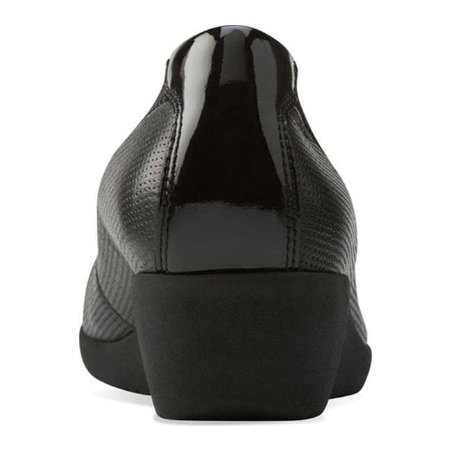 abb64eb23e9 Shop Clarks Women s Petula Sadie Cap Toe Shoe Black Full Grain Leather Patent  Leather - Free Shipping Today - Overstock - 11785350