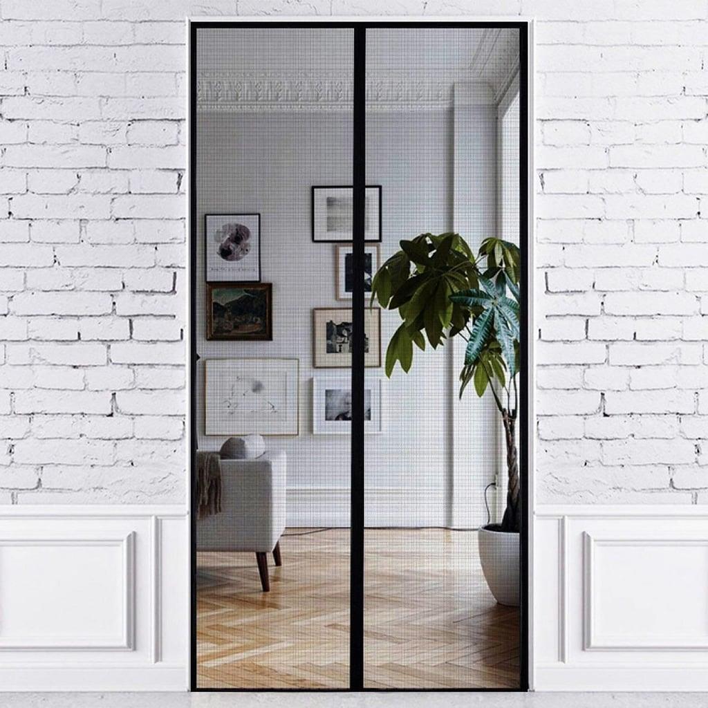 Shop Just Relax Premium Magnetic Fiberglass Mesh Screen Door 36x83