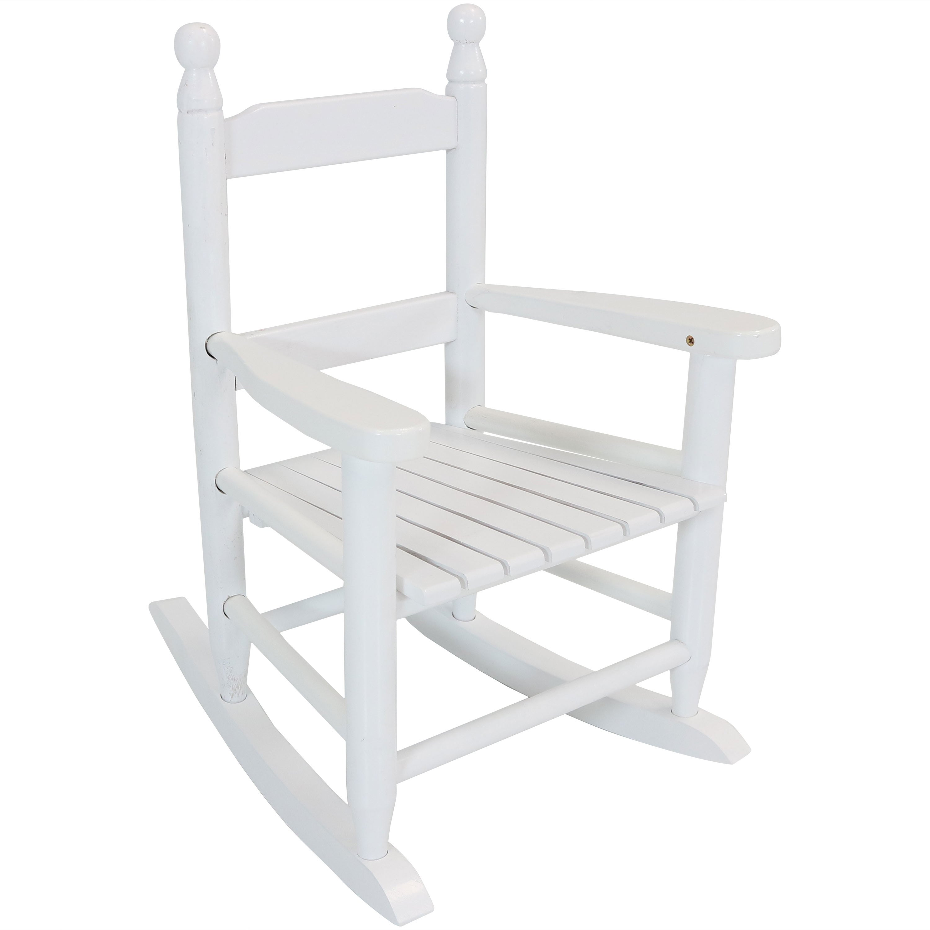 Shop Sunnydaze Toddler Modern Wooden Rocking Chair   Non Toxic Paint    Choose A Color   Free Shipping On Orders Over $45   Overstock.com   22963946