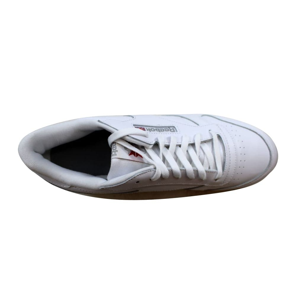 4bd73d1792f Shop Reebok Men s Classic Leather White White-Light Grey 9771 Size 12.5 -  On Sale - Free Shipping Today - Overstock - 23436614