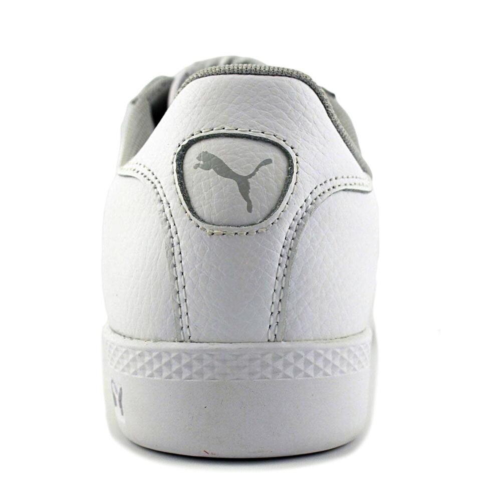 844f6724000 Shop Puma Smash Cat L Women Leather White Fashion Sneakers - Free Shipping  On Orders Over  45 - Overstock - 18802641