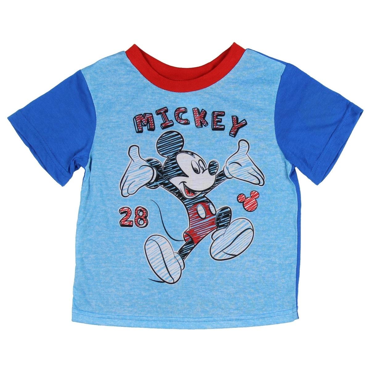 4446a3e94 Shop Disney Mickey Mouse Little Boys  Toddler Scribble Art 2-Piece ...