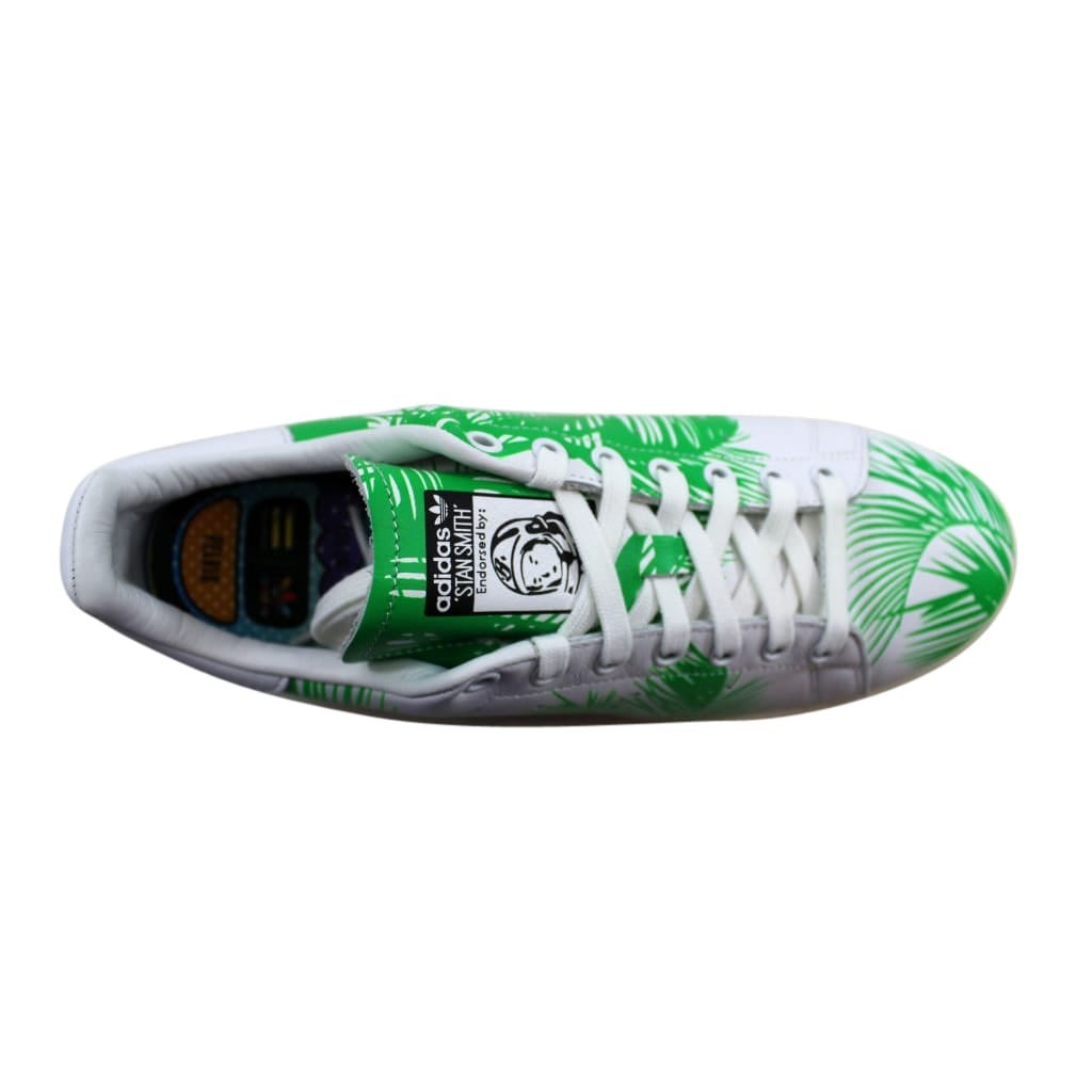 726b65a4a Shop Adidas Men s Pharrell Williams Stan Smith BBC Palm Tree White Green-Off  White S82071 - On Sale - Free Shipping Today - Overstock - 24306091