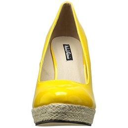 938f5c9fb79 Shop Michael Antonio Women s Anabel-Pat Espadrille Wedge Sandal - 6 - Free  Shipping On Orders Over  45 - Overstock - 20704200