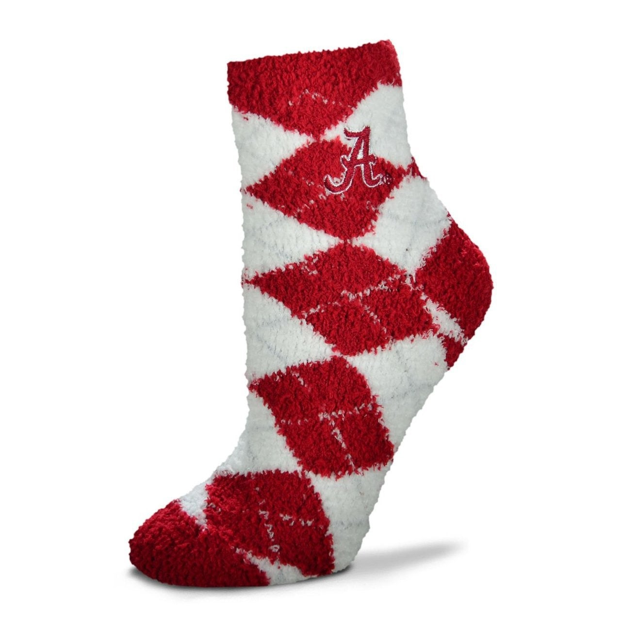 82e42dd982e2 Shop Alabama Crimson Tide Fuzzy Sleep Socks - Free Shipping On Orders Over   45 - Overstock.com - 12490342