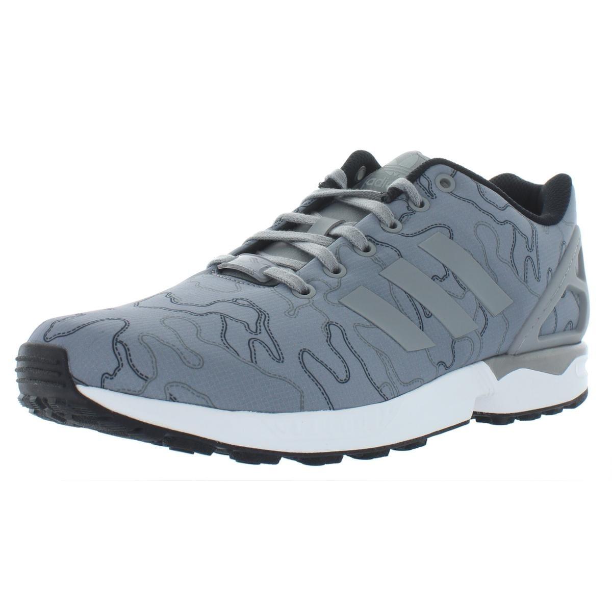 huge selection of 22280 f2916 adidas Originals Mens ZX Flux Running Shoes Low Top Active