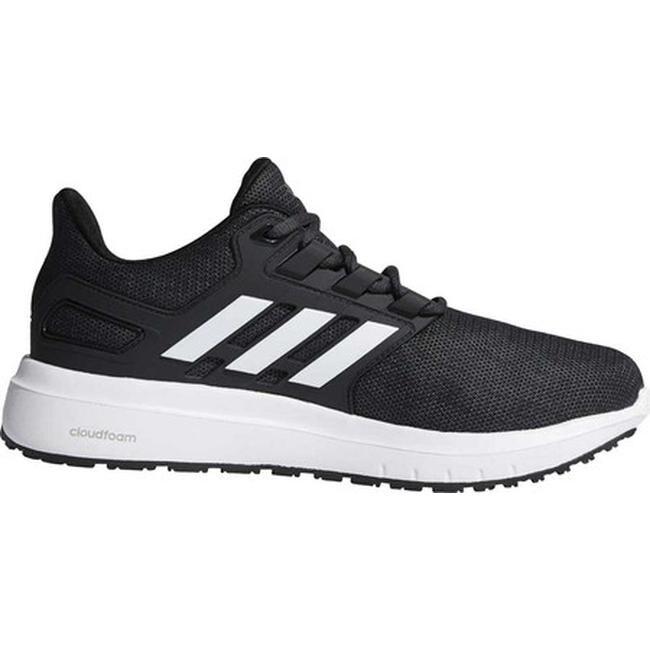 122a2a6fd14 adidas Men s Energy Cloud 2-Tone Knit Mesh Running Shoe Core Black FTWR  White Carbon S18