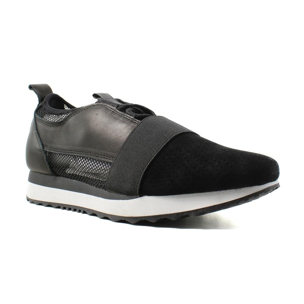 8fdb695d630 Shop Steve Madden Womens Altitude Black Walking Shoes Size 7.5 ...